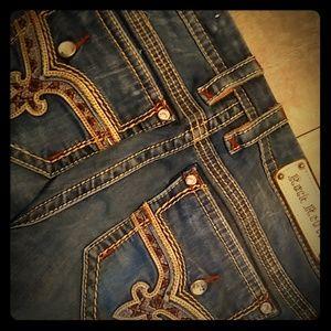 Rock revival jeans size 32 bootcut